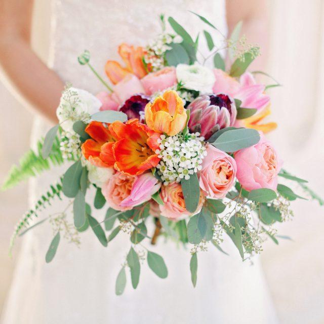 Buchet de flori pentru mireasă