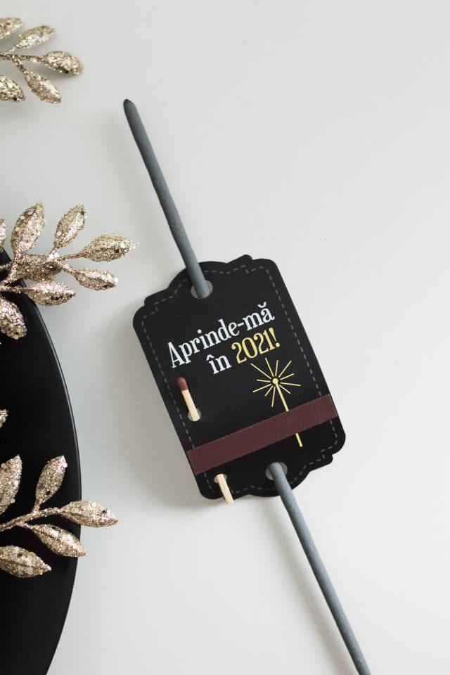 Artificii de mână / sparklers pentru Revelion