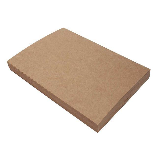 Carton kraft natur A4, 300g/mp